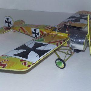 soda can model Fokker Eindecker