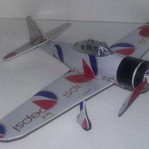 soda can airplane Japanese Zero