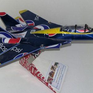 soda can airplane F-14 Tomcat