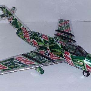 soda can model MiG 15