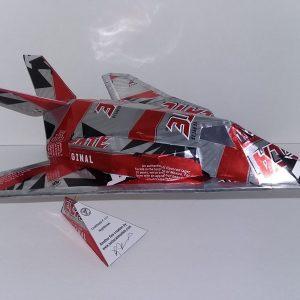soda can model F-117