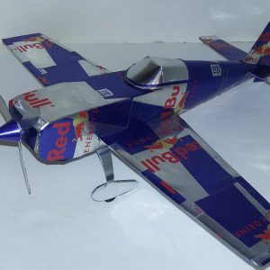 Aluminum can airplane Extra EA-300