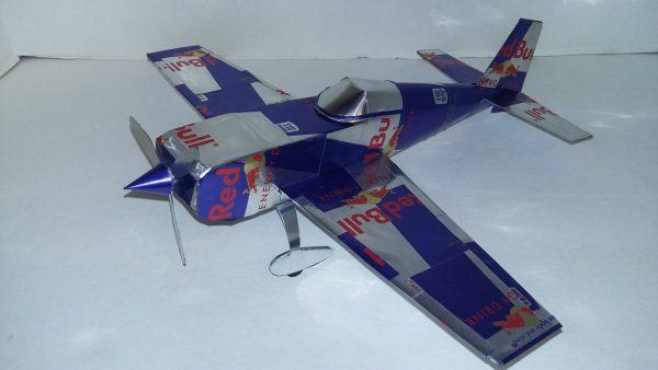 Aluminum can airplane Extra EA-300