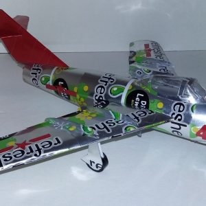 Coke Can airplane MiG-15