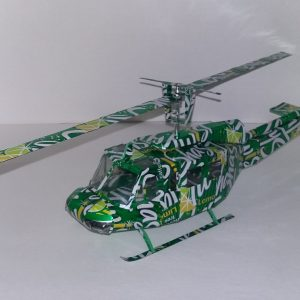 soda can model Bell uh1