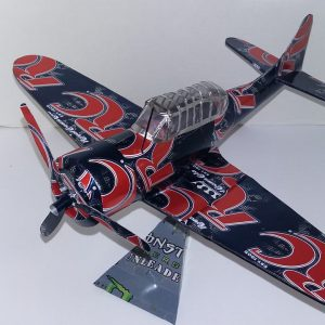 Aluminum can airplane Dauntless SBD