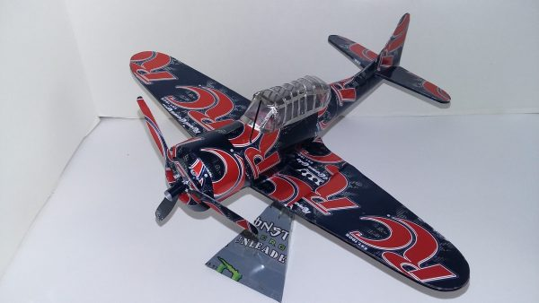 soda can airplane Dauntless divebomber