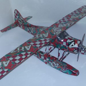 soda can airplane de Havilland Beaver Float Plane
