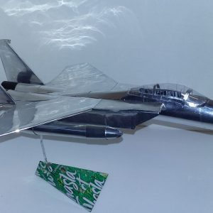 soda can model F-15 Eagle