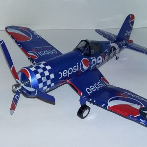 soda can Model F4U Corsair