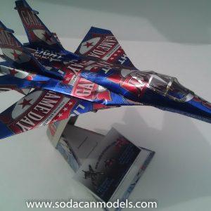 soda can model Su-27