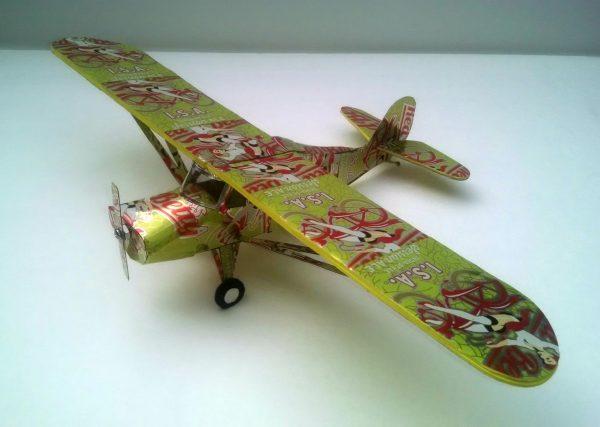 soda can airplane Aeronica L-16