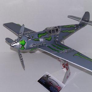 soda can model Me-109