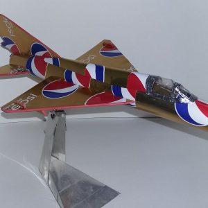 soda can airplane MiG 21