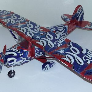 Aluminum can airplane Piper Tri-Pacer