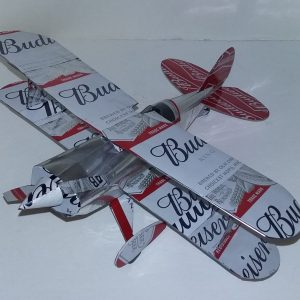 soda can model Pitts Special Biplane
