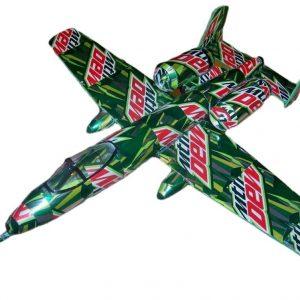 soda can model A-10 warthog