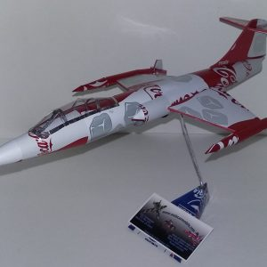 soda can model F-104 Starfighter
