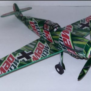 soda can airplane Bf109