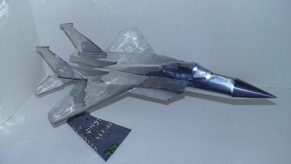 soda can airplane f-15