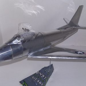 soda can airplane F-86