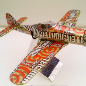 soda can airplane Fw 190