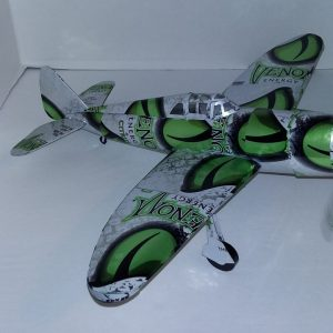 Aluminum can airplane P-47D Thunderbolt