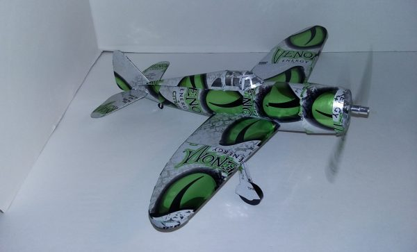 soda can model P-47 Thunderbolt