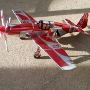 soda can model P-51B Mustang