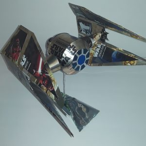 soda can airplane TIE Interceptor